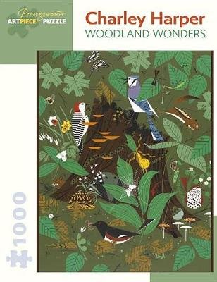 Other - Charley Harper Woodland Wonders 1000-Piece Jigsaw ...