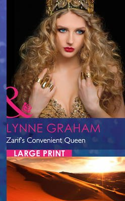 Zarif's Convenient Queen (Large print, Hardcover, Large type edition): Lynne Graham