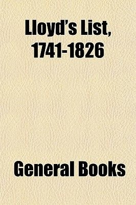 Lloyd's List 1753 (Paperback): General Books