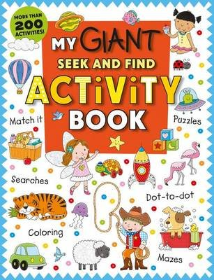 Educational - My Giant Seek-And-Find Activity Book - More ...
