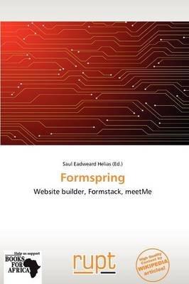 Formspring (Paperback): Saul Eadweard Helias, Helias Saul Eadweard
