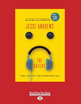 The Haters (Large print, Paperback, Large type / large print edition): Jesse Andrews