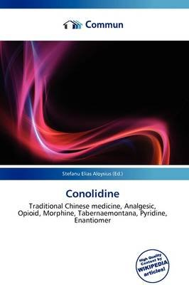 Conolidine (Paperback): Stefanu Elias Aloysius