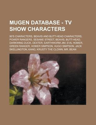 Mugen Database - TV Show Characters - 90's Characters