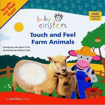 Touch and Feel Farm Animals (Board book, First ed.): Nadeem Zaidi