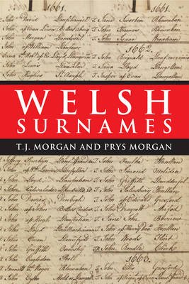 Welsh Surnames (Paperback, UK ed.): T.J. Morgan, Prys Morgan