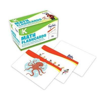 Kindergarten Math Flashcards (Cards): Sylvan Learning