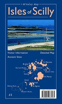 Map of the Isles of Scilly (Sheet map, folded, 3rd Revised edition): Neil Reid