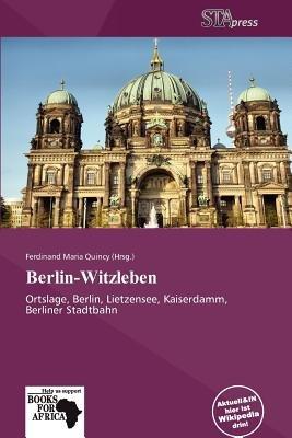 Berlin-Witzleben (German, Paperback): Ferdinand Maria Quincy