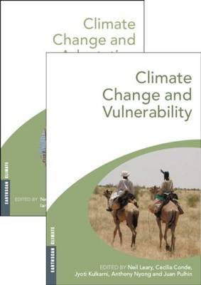 Climate Change and Vulnerability and Adaptation - Two Volume Set (Paperback): Neil Leary