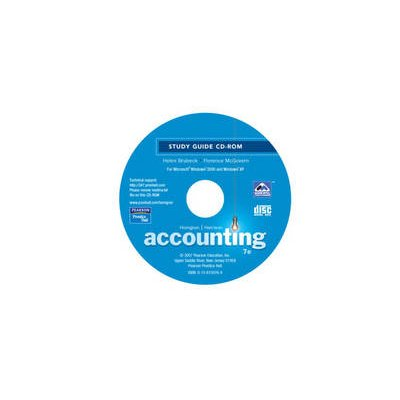 Accounting Study Guide (CD-ROM, 7th Revised edition): Sherry K. Mills, Charles T. Horngren