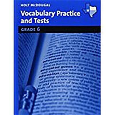 Holt McDougal Literature Texas - Vocabulary Practice Grades