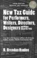 New Tax Guide for*C0879109661 (Paperback, 5th ed., rev. and updated): Hanlon
