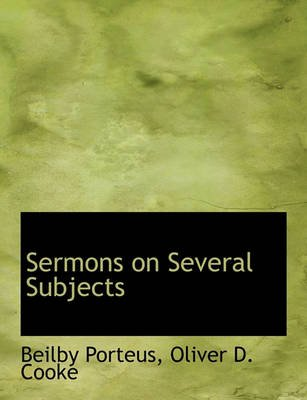 Sermons on Several Subjects (Paperback): Beilby Porteus