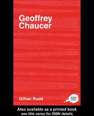 Geoffrey Chaucer (Electronic book text): G A Rudd