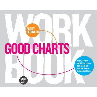 Good Charts Workbook - Tips, Tools, and Exercises for Making Better Data Visualizations (Paperback): Scott Berinato