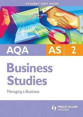 AQA AS Business Studies, Unit 2 - Managing a Business (Paperback): Isobel Rolitt James