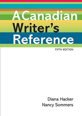 A Canadian Writers Reference Spiral Bound 5th Ed Diana Hacker