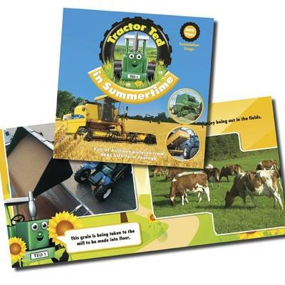 Tractor Ted in Summertime (Paperback): Alexandra Heard
