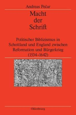 Macht Der Schrift (English, German, Electronic book text): Andreas Pecar