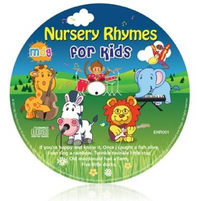 Nursery Rhymes for Kids (CD):