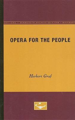 Opera for the People (Electronic book text): Herbert Graf