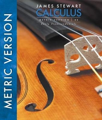 Calculus, Early Transcendentals, International Metric Edition (Hardcover, 8th edition): James Stewart
