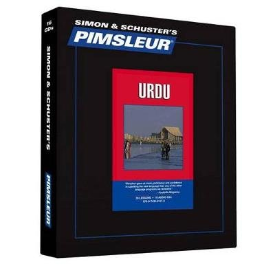 Pimsleur Urdu Level 1 CD - Learn to Speak and Understand Urdu with Pimsleur Language Programs (Standard format, CD, Lessons +...