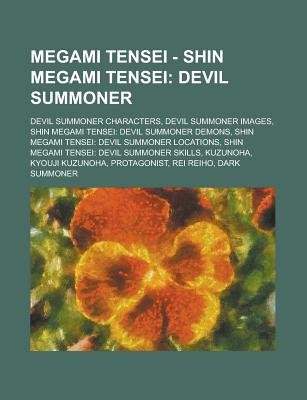 Megami Tensei Shin Megami Tensei Devil Summoner Devil Summoner