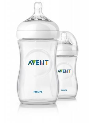 Philips AVENT Natural Feeding Bottle (260ml) (2 Pack):