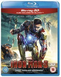 Iron Man 3 (English, French, Blu-ray disc): Robert Downey Jr., Guy Pearce, Gwyneth Paltrow, Ben Kingsley, Don Cheadle, Rebecca...