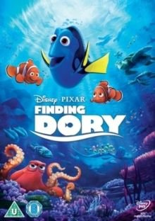 Finding Dory (English, Hindi, Italian, DVD): Ellen DeGeneres, Albert Brooks, Diane Keaton, Eugene Levy, Ty Burrell, Willem...