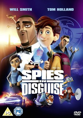 Spies In Disguise (DVD):