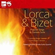 Various Artists - Lorca & Bizet: Popular Songs & Carmen Suite (CD): Francesca Scaini, Carlo Scalco, Federico Moreno-Torroba...