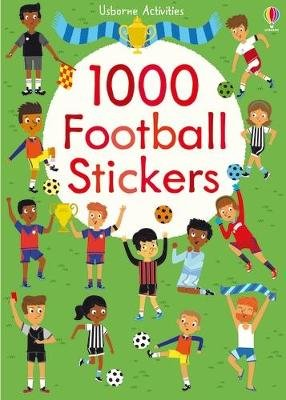 1000 Football Stickers (Paperback): Bowman