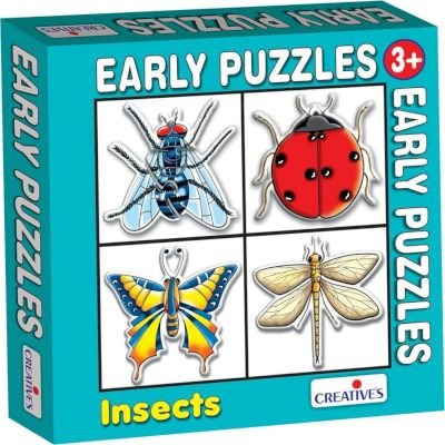 Creative's Early Puzzles - Insects: