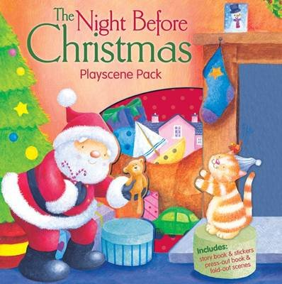 The Night Before Christmas - Playscene Pack (Paperback): Clement Clarke Moore