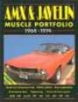 AMX and Javelin Muscle Portfolio, 1968-74 (Paperback): R.M. Clarke