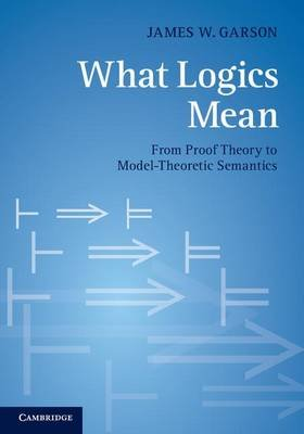 What Logics Mean - From Proof Theory to Model-Theoretic Semantics (Electronic book text): James W. Garson