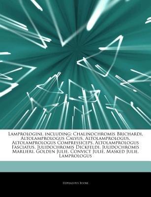 Articles on Lamprologini, Including - Chalinochromis Brichardi, Altolamprologus Calvus, Altolamprologus, Altolamprologus...