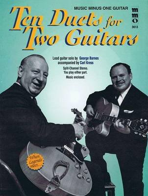 Ten Duets for Two Guitars (Book): Hal Leonard Corp
