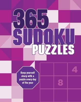 365 Puzzles Sudoku (Spiral bound):