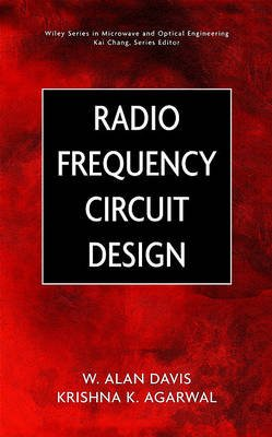 Radio Frequency Circuit Design (Electronic book text, 1st edition): W. Alan Davis, Krishna Agarwal