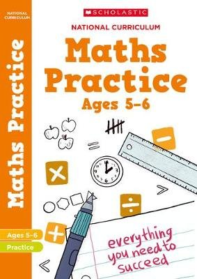 National Curriculum Maths Practice Book for Year 1 (Paperback): Scholastic