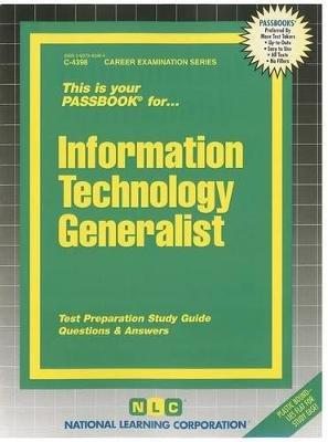 Information Technology Generalist (Spiral bound): Jack Rudman