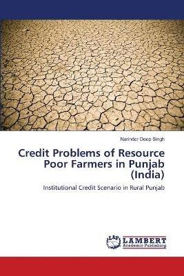 Credit Problems of Resource Poor Farmers in Punjab (India) (Paperback): Narinder Deep Singh