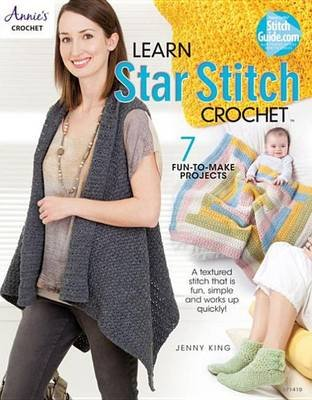 Learn Star Stitch Crochet (Electronic book text): Jenny King