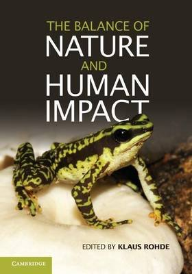 The Balance of Nature and Human Impact (English, French, Electronic book text): Klaus Rohde