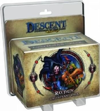 Descent 2nd Edition - Raythen Lieutenant Pack (Game):