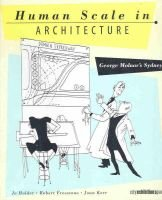 Human Scale in Architecture - George Molnar's Sydney (Hardcover): Jo Holder, Robert Freestone, Joan Kerr